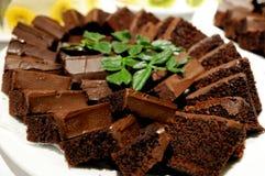 Geschoten van heerlijke dessert, vruchten & cakes royalty-vrije stock foto's