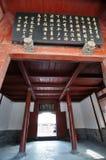 Geschoten van het Oude Chinese kasteel van de tempelpagode royalty-vrije stock afbeeldingen