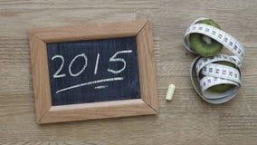 geschreven 2015 Stock Foto's