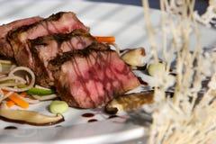 Geschroeid rundvlees stock afbeelding
