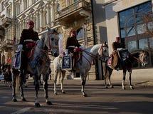 Geschwader der Kavallerie Lizenzfreie Stockfotografie