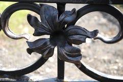 Geschweißte Eisenblume lizenzfreie stockbilder