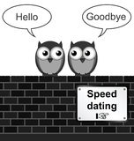 Geschwindigkeits-Datierung Lizenzfreie Stockfotos