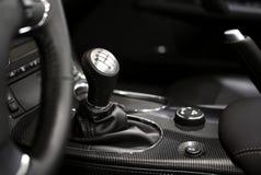 6 Geschwindigkeits-Schalthebel Lizenzfreie Stockbilder