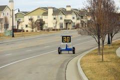 Geschwindigkeits-Zonen-Anhänger Lizenzfreie Stockfotografie