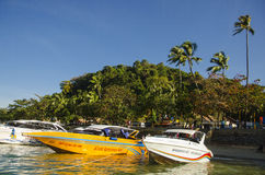 Geschwindigkeitsboote Stockbild