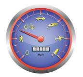 Geschwindigkeitseinheit Lizenzfreie Stockbilder