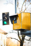 Geschwindigkeitskamera Lizenzfreies Stockbild