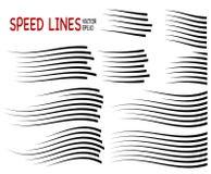Geschwindigkeitslinie lizenzfreie abbildung