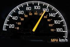 Geschwindigkeitsmesser Stockfotos