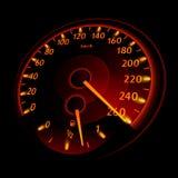 Geschwindigkeitsmesser stock abbildung