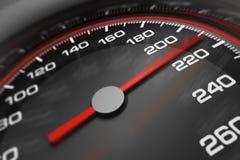 Geschwindigkeitsmesser 3D Lizenzfreie Stockfotografie