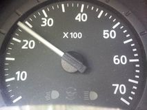 geschwindigkeitsmesser stockfoto