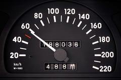 Geschwindigkeitsmesser Stockfotografie