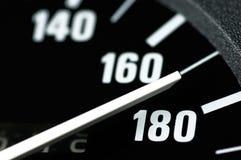 Geschwindigkeitsmesser lizenzfreies stockfoto