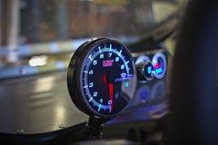 Geschwindigkeitsmesser des Buggys Lizenzfreies Stockbild