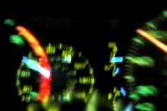 Geschwindigkeitsmesser-Tachometer-Montage stock abbildung
