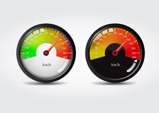 Geschwindigkeitsmesserkonzept stockfotografie