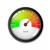 Geschwindigkeitsmesserkonzept stockfoto