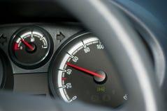 Geschwindigkeitsmeter 50 kmh Lizenzfreies Stockbild