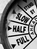 Geschwindigkeitsregelung Lizenzfreie Stockfotos