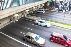 Geschwindigkeitsregelungsradar Stockfotografie