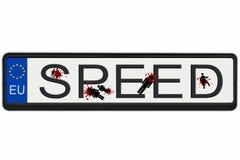 Geschwindigkeitstötungen Lizenzfreie Stockbilder