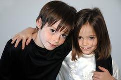 Geschwister Stockfotografie