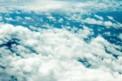 Geschwollene Wolken stockbilder