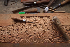 Gesehntes Holz lizenzfreies stockfoto