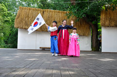 Gesellschaft für koreanische Tanz-Ausbildung Lizenzfreie Stockfotos
