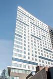 Gesellschaft von Künsten und von Handwerk scharfes emporgeragtes errichtendes Boston Massachusetts Lizenzfreie Stockbilder