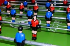 Gesellschaftsspiel mit Zahlen - Fußball Stockbild