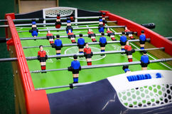 Gesellschaftsspiel mit Zahlen - Fußball Stockbilder