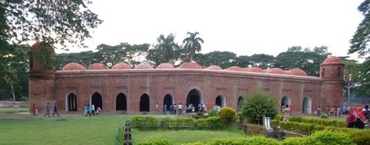 gesessene gombuj Moschee stockbild