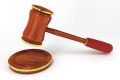 Gesetz-Hammer Stockbild