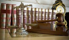 Gesetz und Gerechtigkeit Lizenzfreie Stockbilder