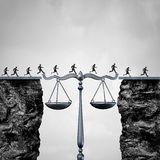 Gesetz und Rechtsanwalt Solution Lizenzfreie Stockbilder