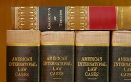 Gesetze und Verträge Stockfoto