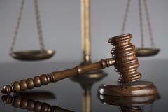 Gesetzes- und Gerechtigkeitskonzept Platz für Text Stockbild