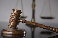 Gesetzes- und Gerechtigkeitskonzept Platz für Text Lizenzfreie Stockfotos