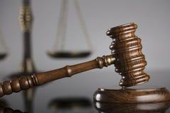 Gesetzes- und Gerechtigkeitskonzept Platz für Text Lizenzfreies Stockbild