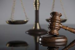 Gesetzes- und Gerechtigkeitskonzept Platz für Text Lizenzfreie Stockfotografie