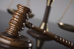 Gesetzes- und Gerechtigkeitskonzept Platz für Text Stockfotos