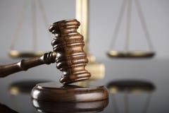 Gesetzes- und Gerechtigkeitskonzept Platz für Text Stockfotografie
