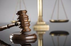 Gesetzes- und Gerechtigkeitskonzept Platz für Text Stockbilder