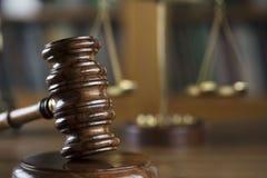 Gesetzes- und Gerechtigkeitskonzept Platz für Typografie und Text Lizenzfreies Stockbild