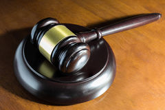 Gesetzeshammer Lizenzfreies Stockfoto