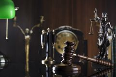Gesetzesthema Lizenzfreies Stockbild