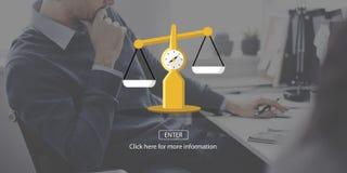 Gesetzesurteil-Rechte, die Rechtsauffassung wiegen Lizenzfreie Stockfotos